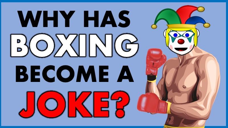 Boxing is a joke