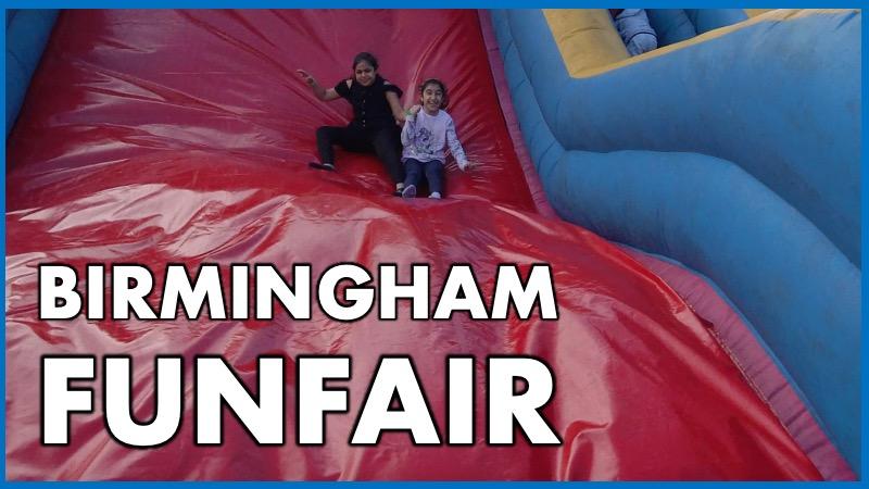 Birmingham Funfair Slide