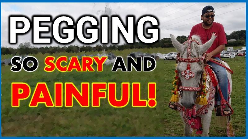 Neza Bazi Tent Pegging Equestrian Event