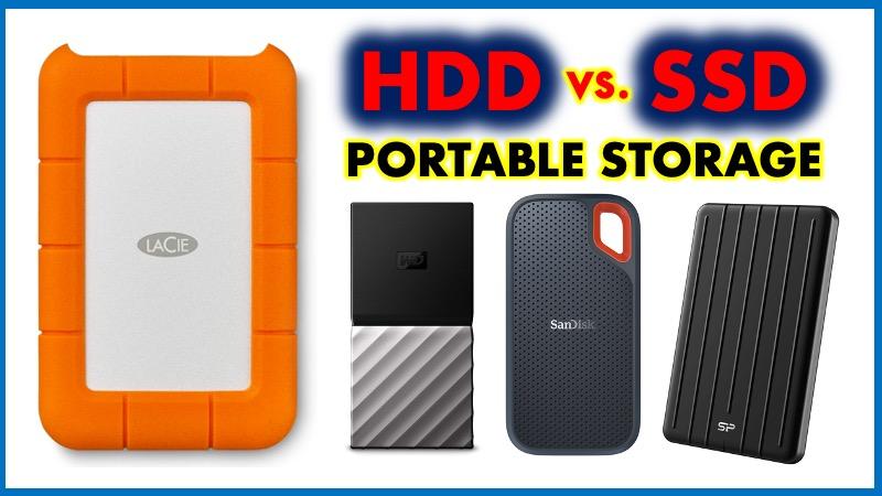 Portable SSD vs HDD